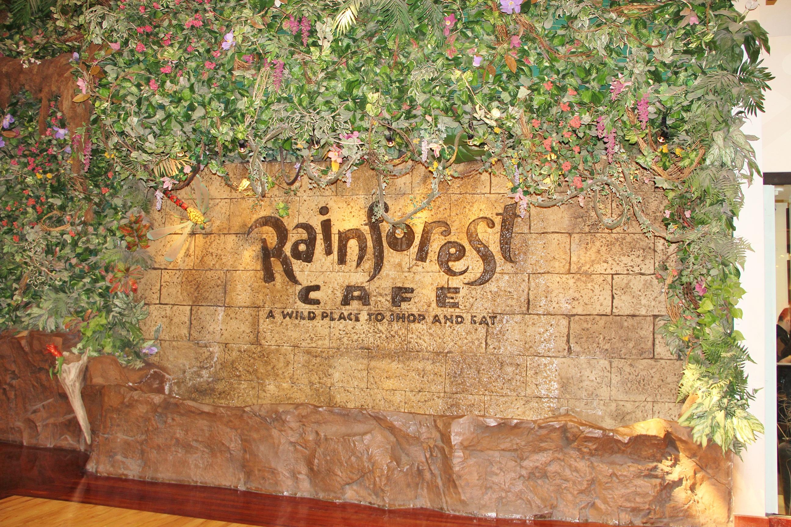 Permalink to Rainforest Cafe Menu