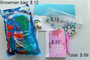 Tips for an Inexpensive goody bag
