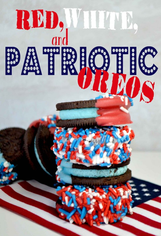 Red, White and Patriotic Oreos!!