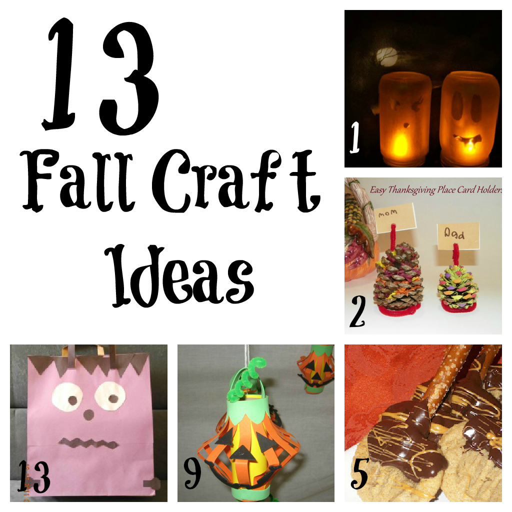 13 Fall Craft Ideas