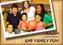 AMF Bowling: Great Family Fun!