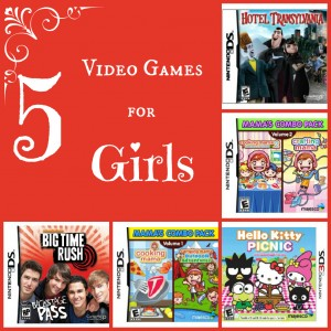 5 Video Game Gift Ideas for Girls