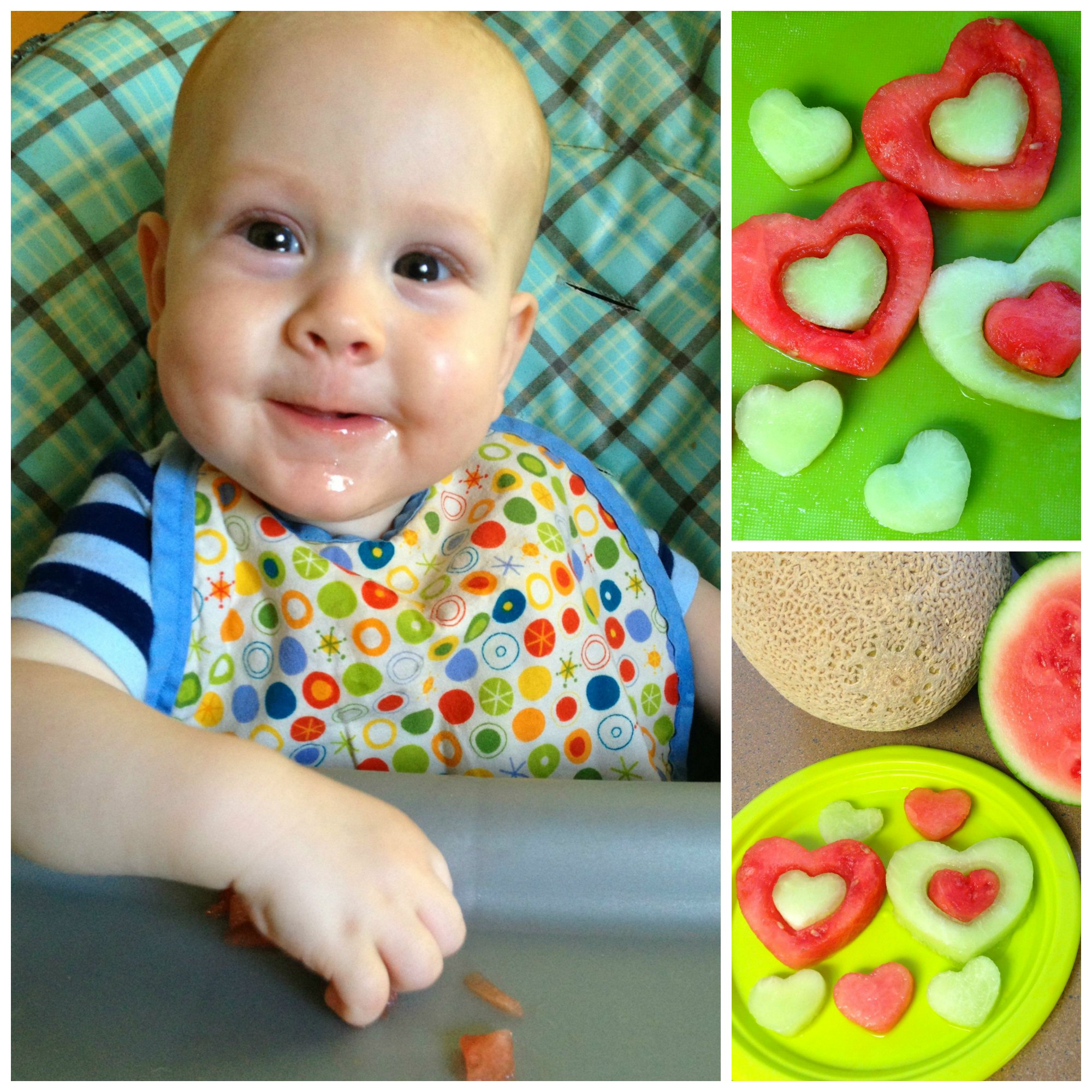 Watermelon Hearts Collage