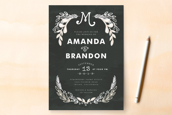 Non Traditional Wedding Invite Wording: Beautiful Cards, Invitations, And More {Minted.com Review