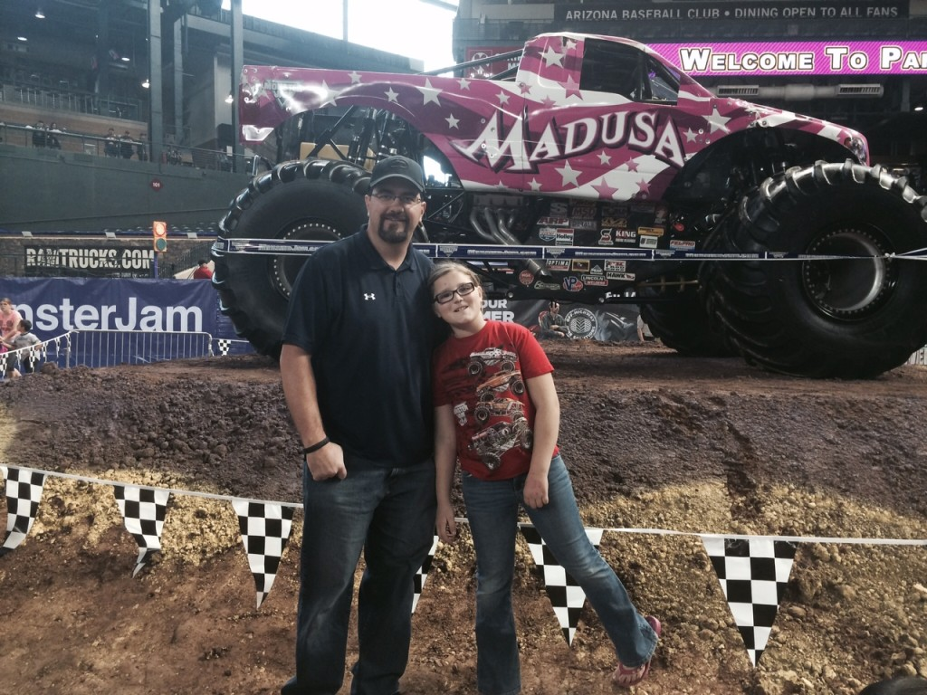 Monster Jam, Phoenix -- Madusa