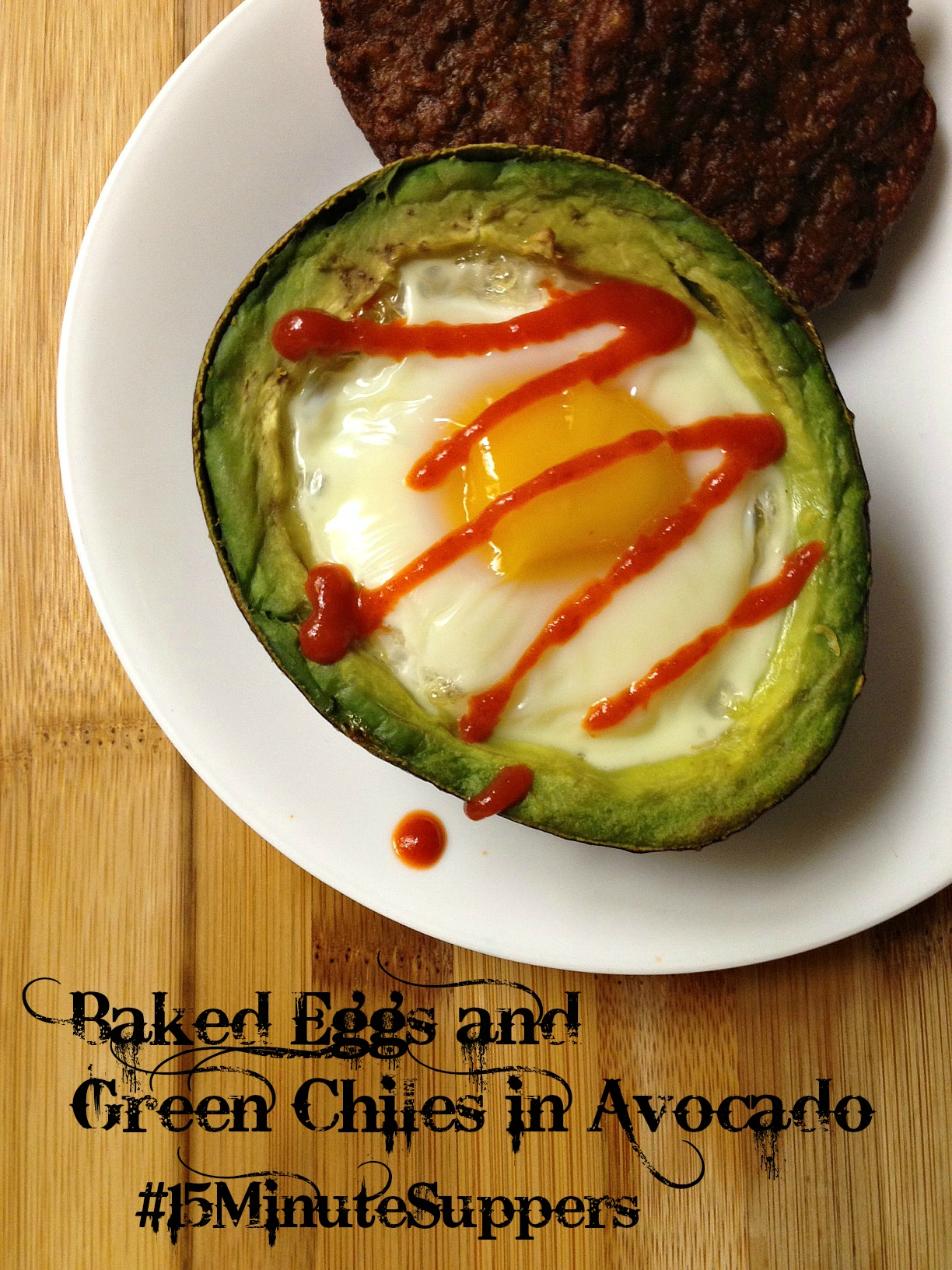Baked Eggs and Green Chiles in Avocado - East Valley Mom Guide