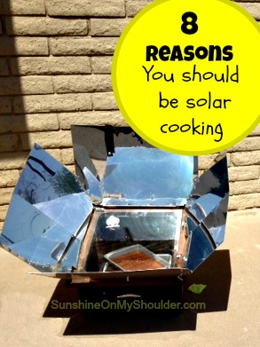 8 Reasons You Should Be Solar Cooking