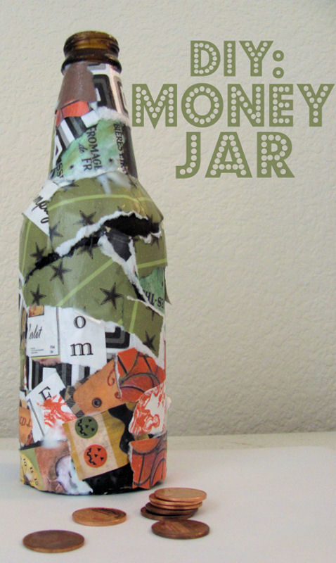 Kids craft money jar east valley mom guide for Craft businesses that make money