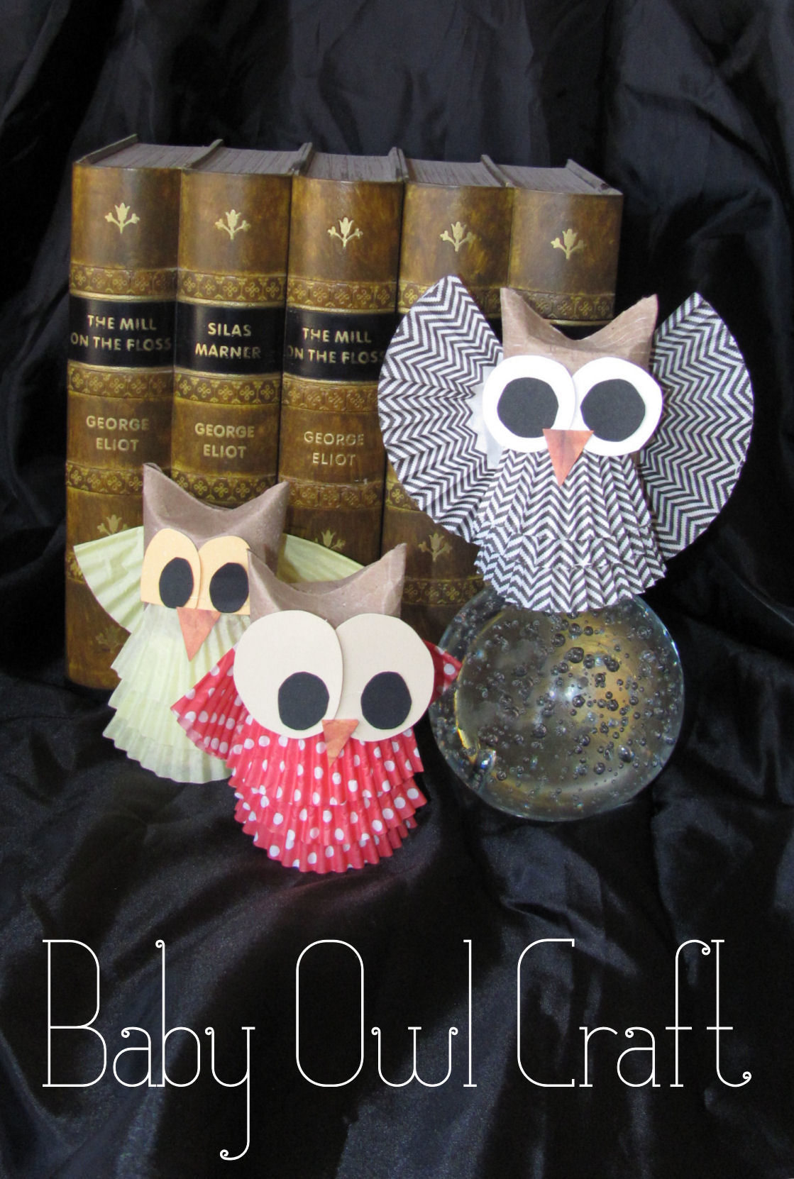 Add Some Cuteness To Your Fall Decor With These Simply Adorable Owls Made From Common Household