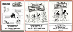 Disney Live! Mickey's Music Festival Coloring Pages
