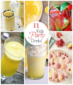 11 Amazing Kid Party Drinks