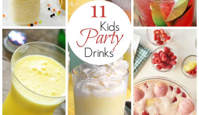 11 Amazing Kid Party Drinks