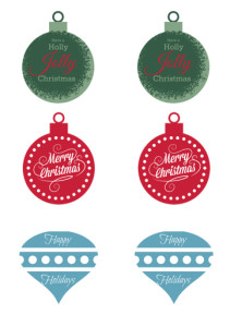 Holiday Gift Tags {free printable}