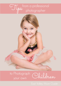 Tips for Photographing your own Children