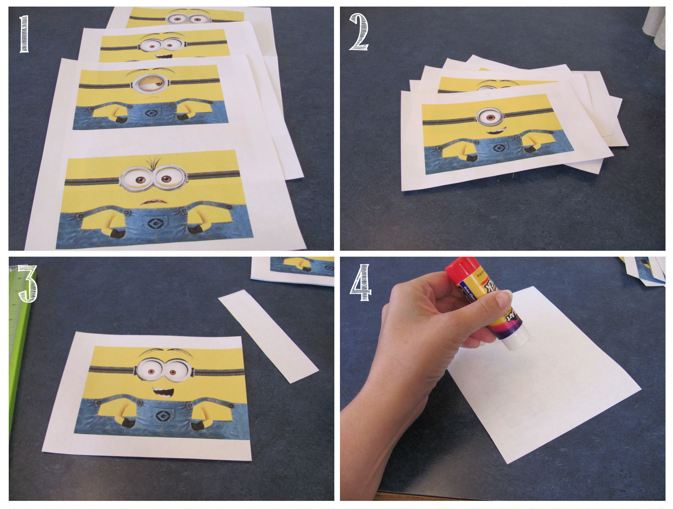 how to make a mini minion pinata