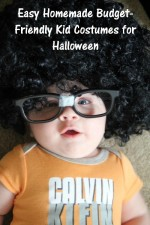 Easy Homemade Budget-Friendly Kid Costumes for Halloween