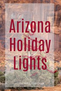 Arizona Holiday Light Displays